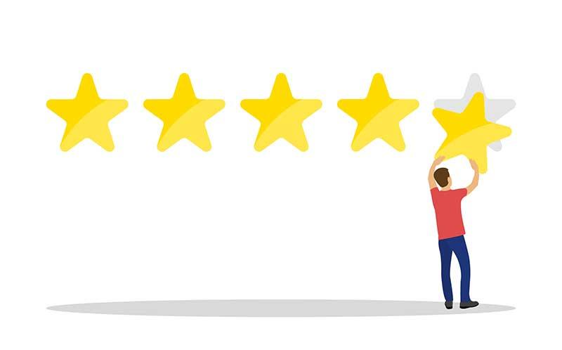 Google Bewertung Beanstandung weitergeleitet